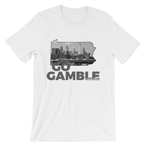 Philadelphia PA Go Gamble T-Shirt