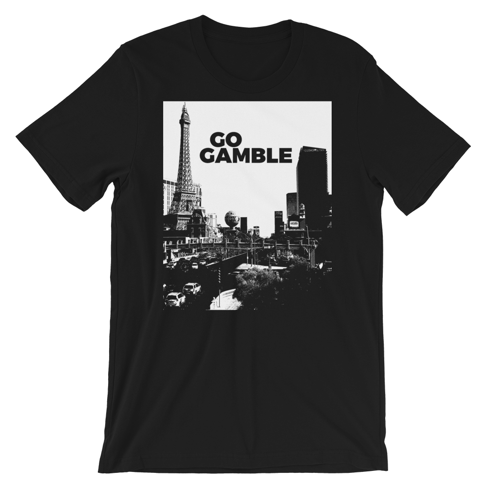 Black and White Vegas T-Shirt