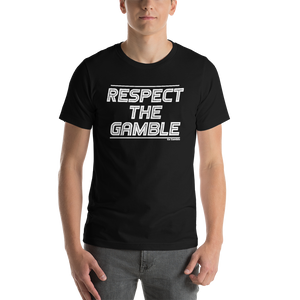 black Respect the Gamble T-Shirt