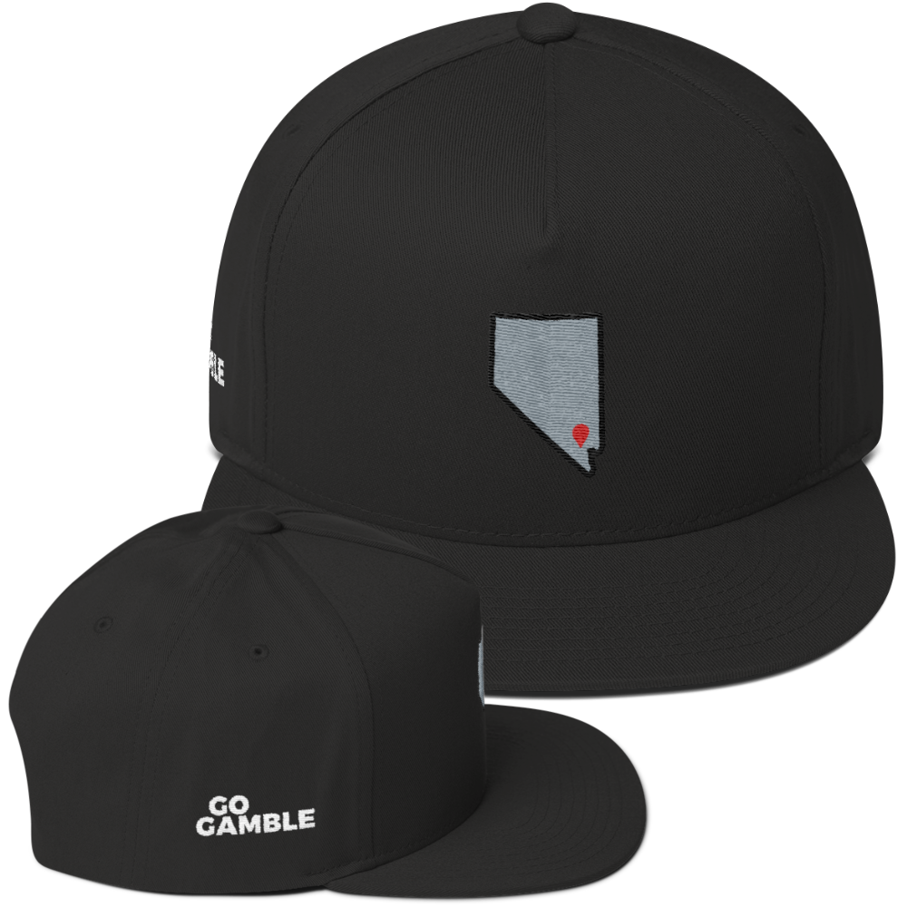 black Location Las Vegas Cotton Snapback