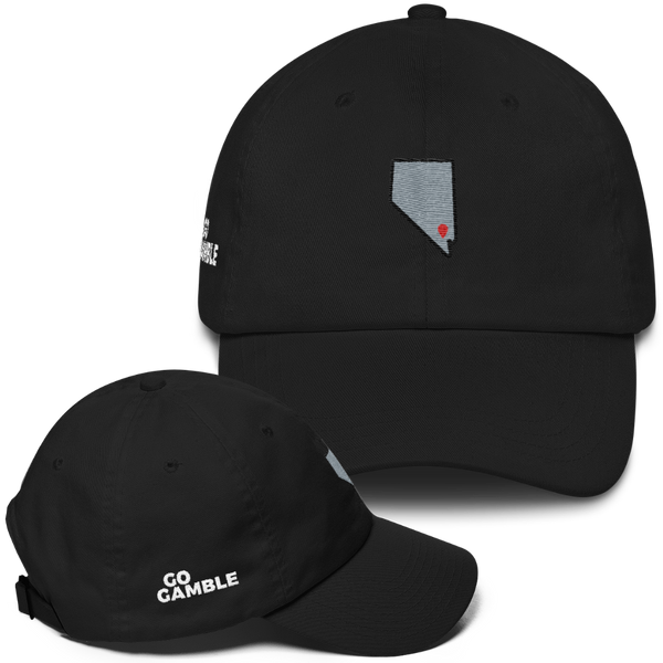 black Location Las Vegas Classic Dad Cap
