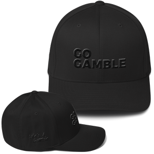 Stealth Mode Go Gamble Flexfit Structured Twill Cap