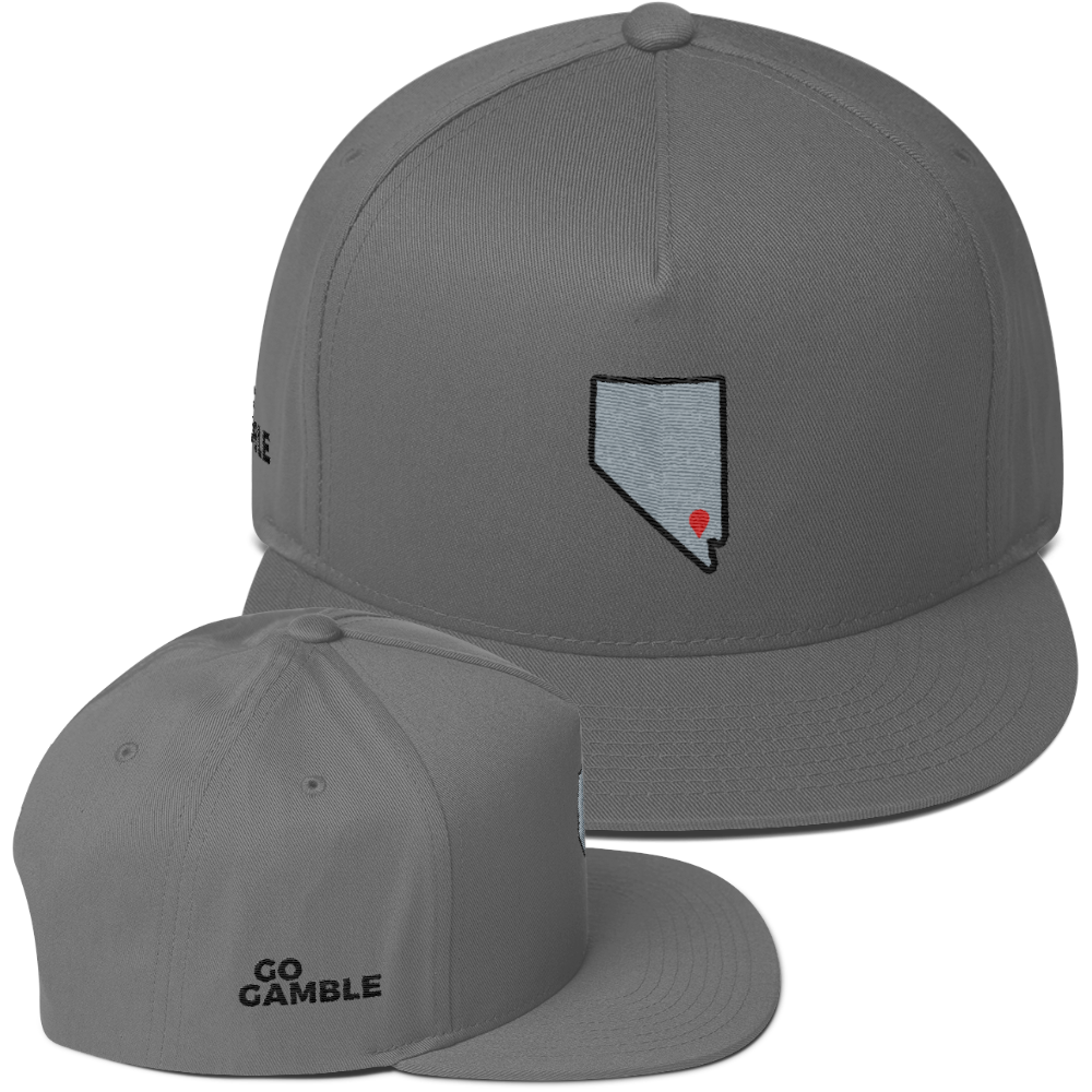 grey Location Las Vegas Cotton Snapback