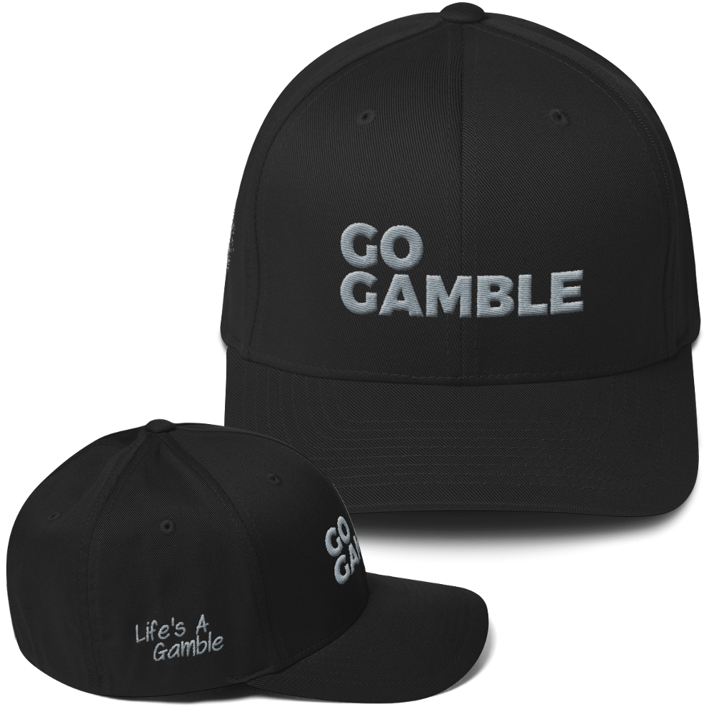 Go Gamble Flexfit Structured Twill Cap