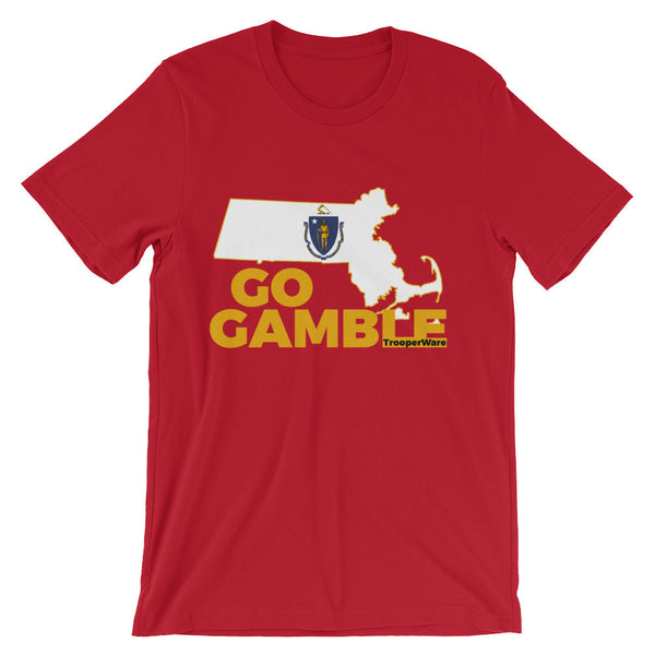 Massachusetts Go Gamble T-Shirt