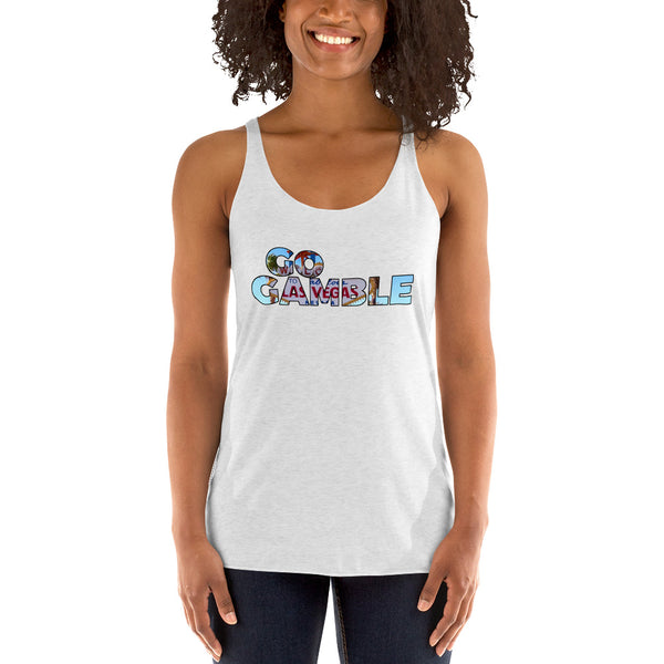 Ladies' Go Gamble Las Vegas Sign Tank-Top