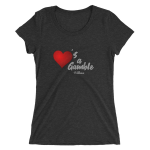 Ladies' Love's a Gamble Tri-Blend T-Shirt