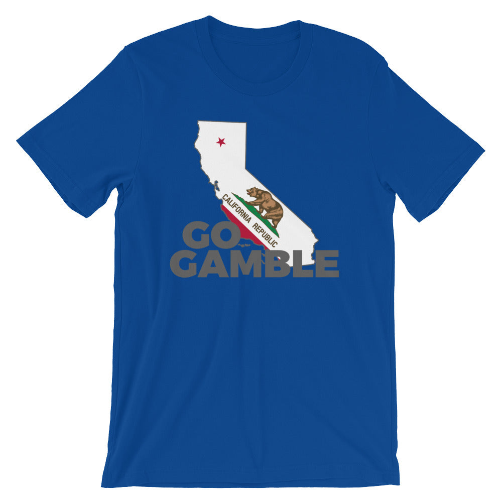 royal California Go Gamble T-Shirt