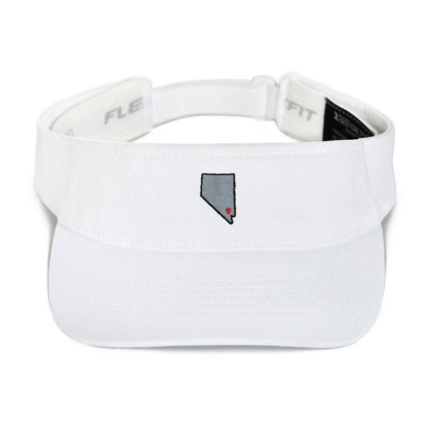 white Location Las Vegas Visor