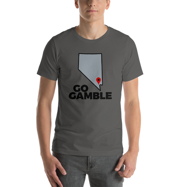 asphalt Location Las Vegas T-Shirt