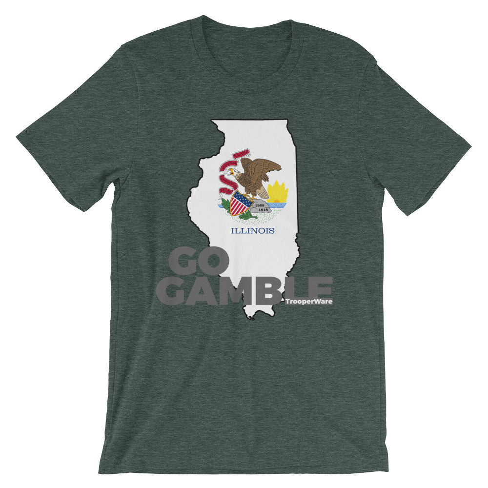 Illinois Go Gamble T-Shirt