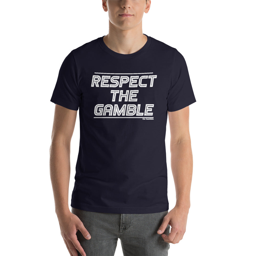 navy Respect the Gamble T-Shirt