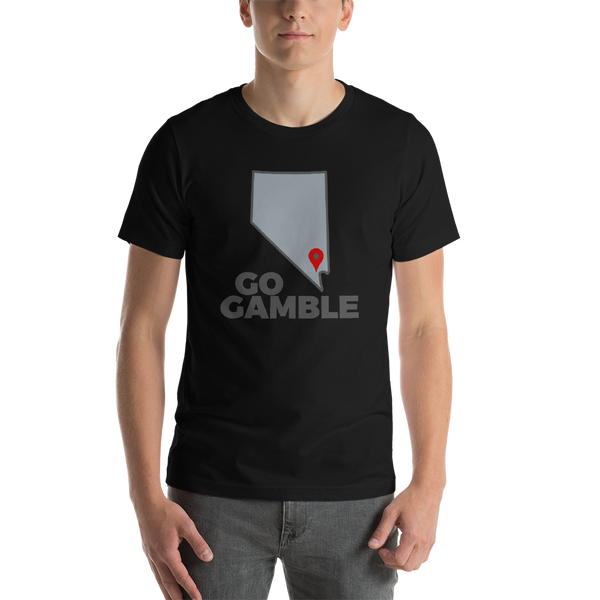 black Location Las Vegas T-Shirt
