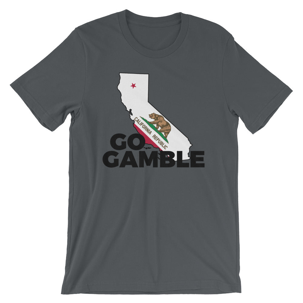 asphalt California Go Gamble T-Shirt
