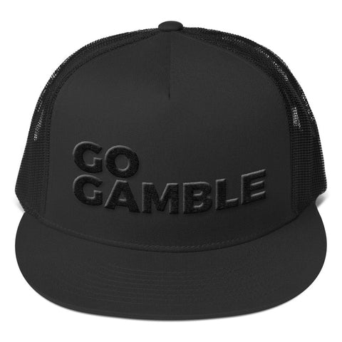 Stealth Mode Go Gamble Trucker Cap