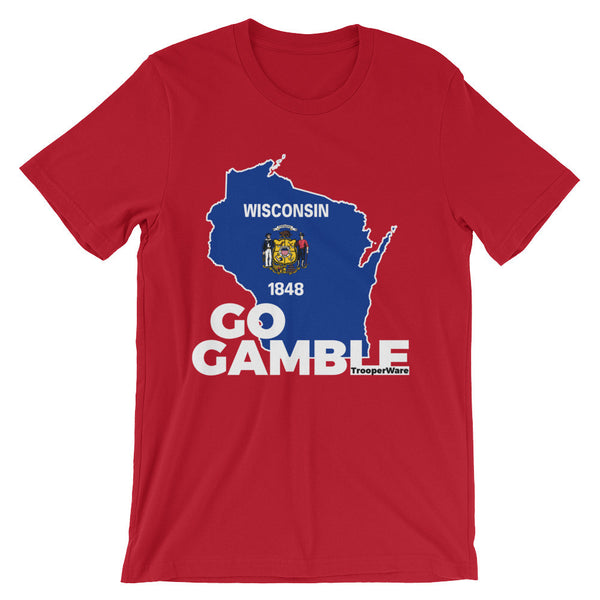Wisconsin Go Gamble T-Shirt