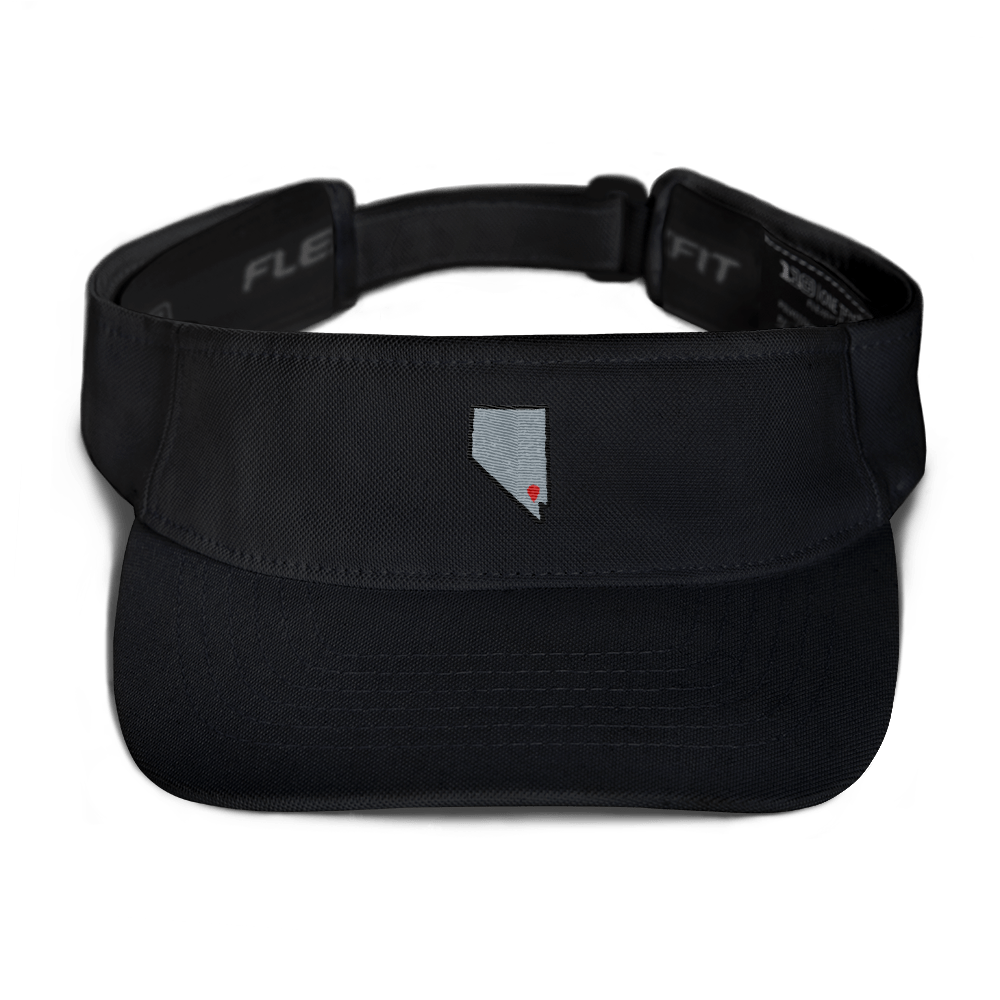 black Location Las Vegas Visor