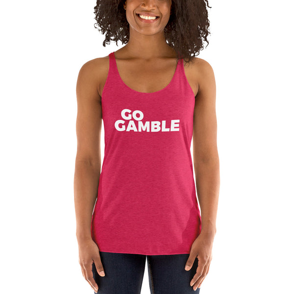 Ladies Go Gamble Tank-Top