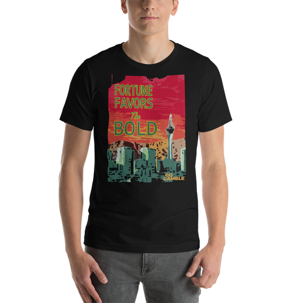 M.Art Boards--Fortune Favors the Bold--T-Shirt