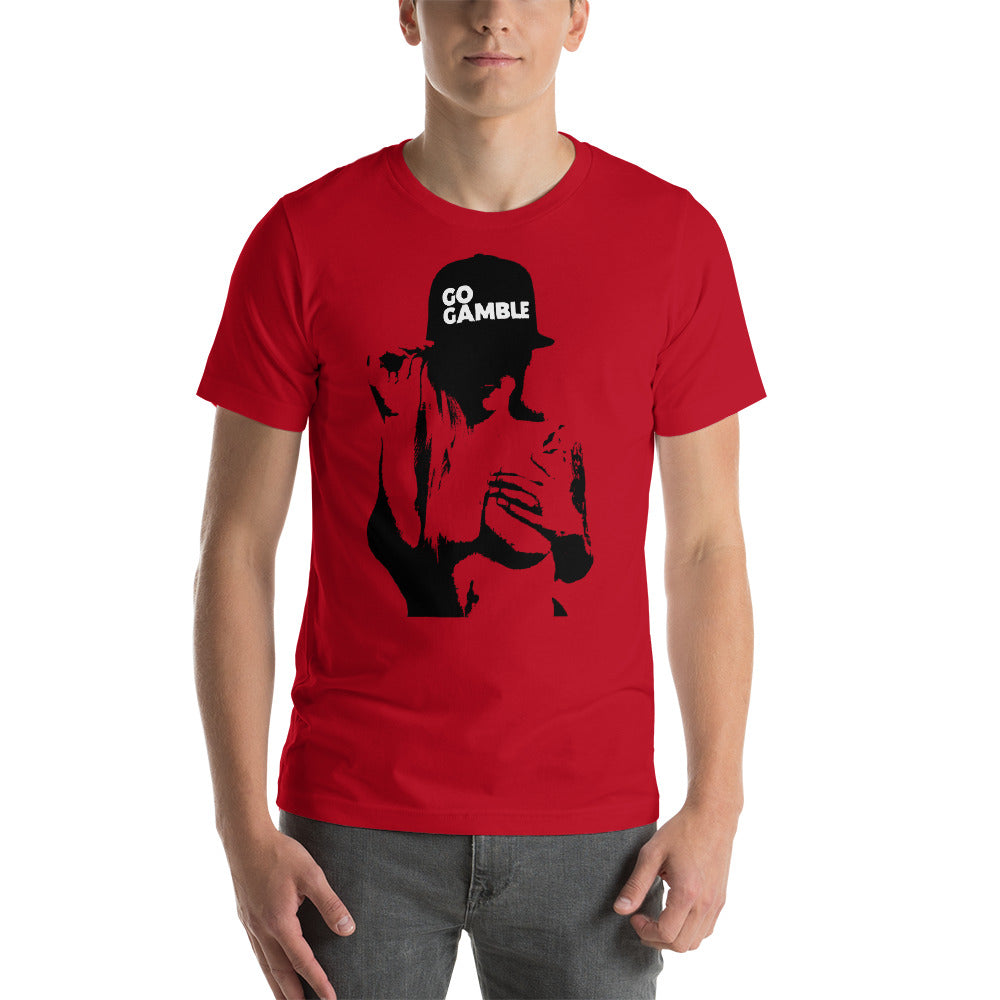 red Inked Shadow Go Gamble T-Shirt
