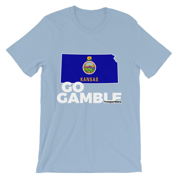 Kansas Go Gamble T-Shirt