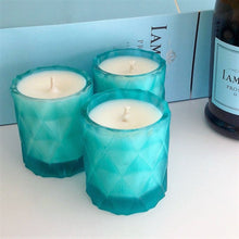 Ready Made Candle  - Emma Turquoise