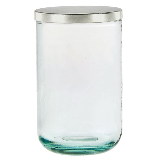 Ivor Candle Jar Set - Recycle Clear