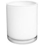 PRE-ORDER** Carrie-White Straight Side Glass Candle Jar - 12 pcs