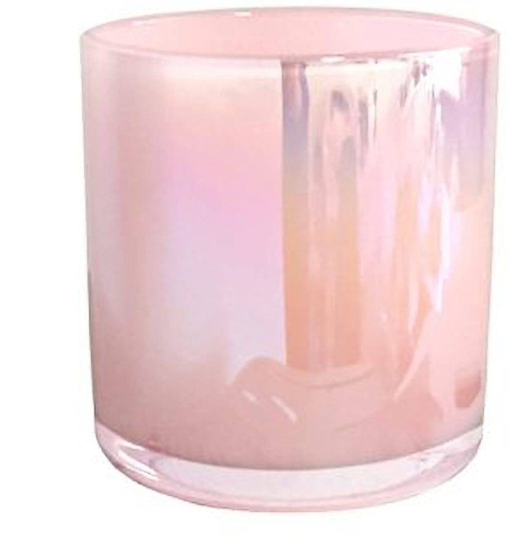Haley Candle Jar Pearl Pink