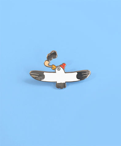 Salty Pin ★SEAGULL★ (Enamel Pin)