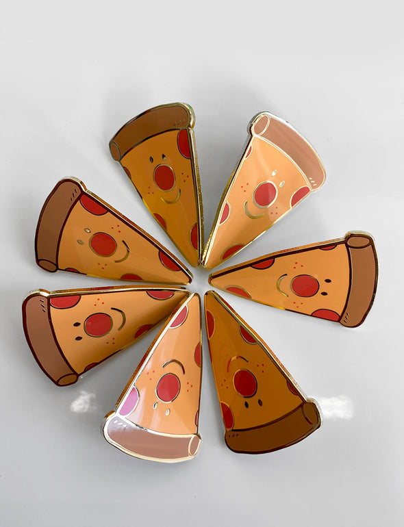 """Pizza slice"" Enamel Pin"
