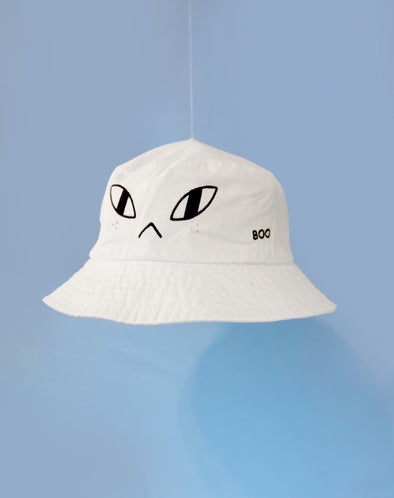 """Ghosty"" Bucket Hat"