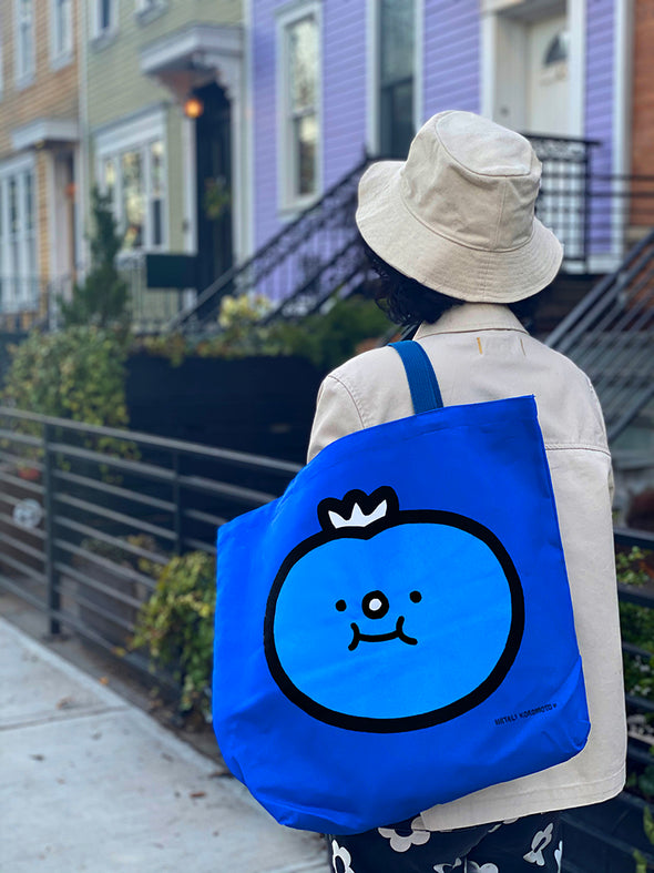 """Blueberry"" Big Tote Bag"