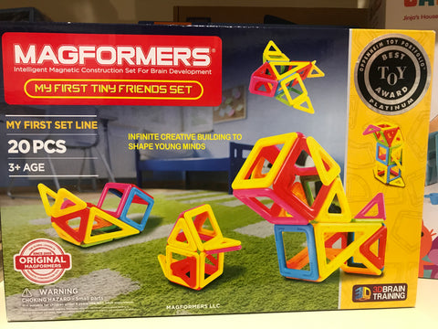 Magformers My First Tiny Friends Set (20 Pieces)