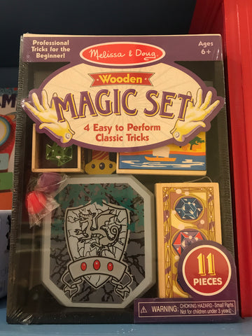 Melissa & Doug Wooden Magic Set (11pc)