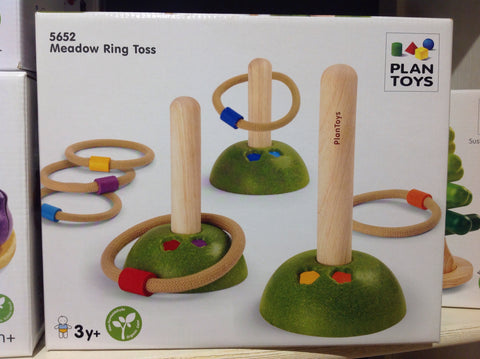 Plan Toys Meadow Ring Toss