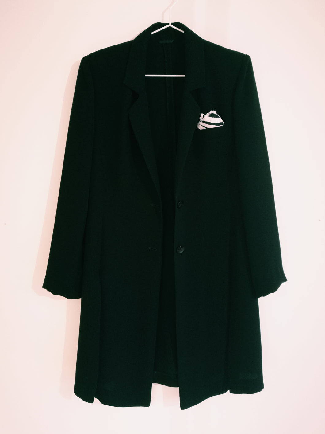 SELF-TAILORED BLACK BLAZER