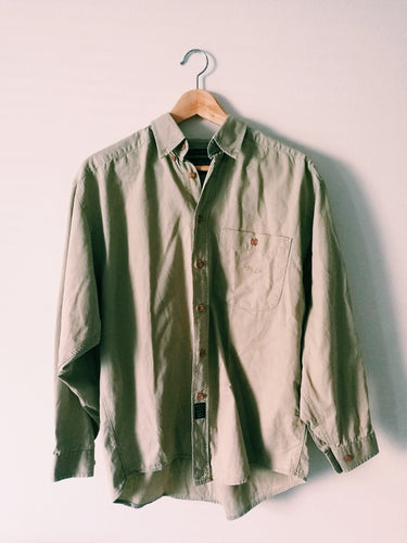 PART TWO BEIGE COTTON SHIRT