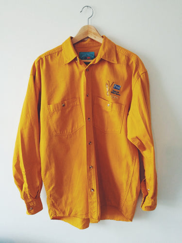YELLOW VINTAGE SHIRT