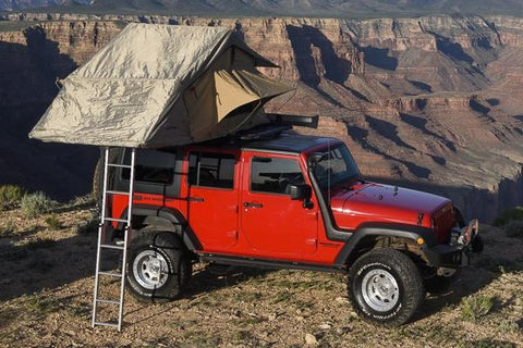 simpson III series carb roof top tent for jeep