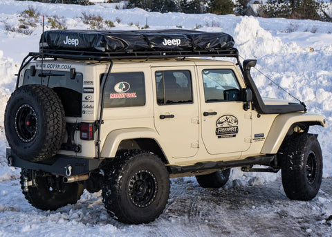 Image result for 2018 Jeep Wrangler roof top tent installed