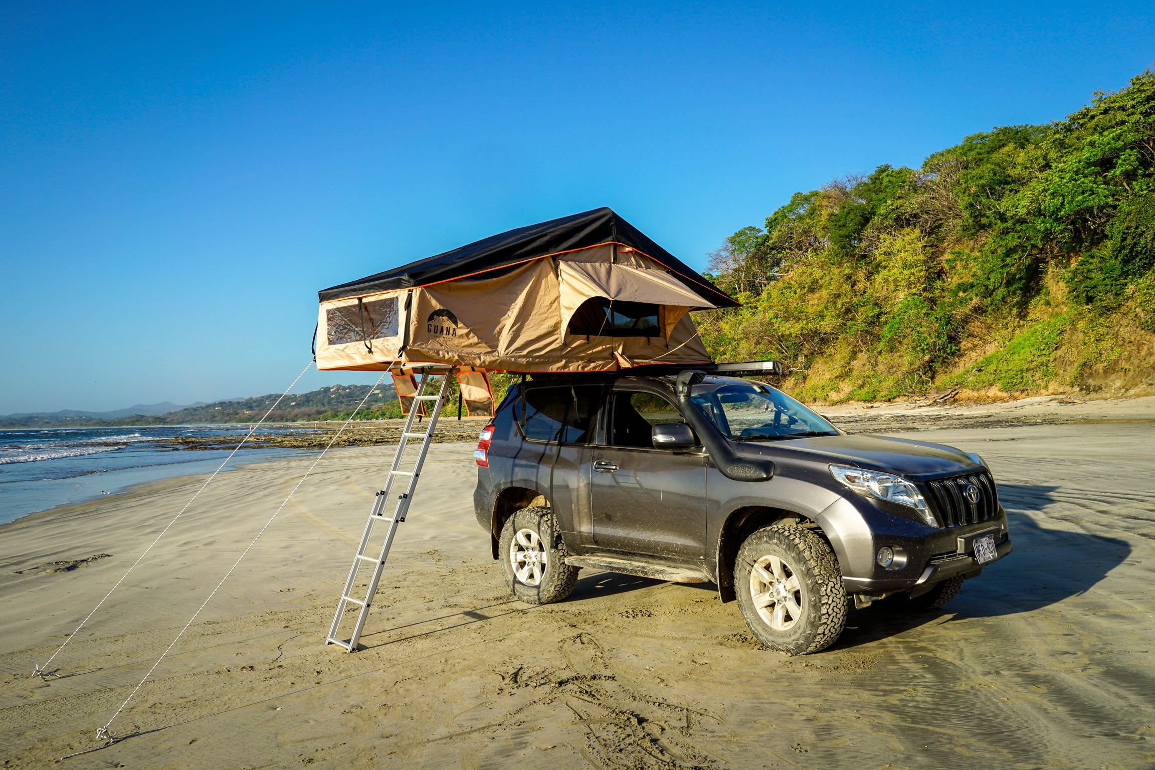 guana equipment roof top tents