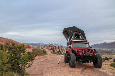 adventure series m49 jeep edition rooftop tent by free spirit recreation
