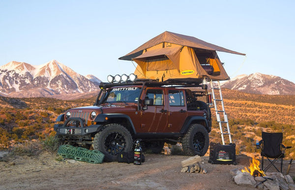 smittybilt jeep top tent