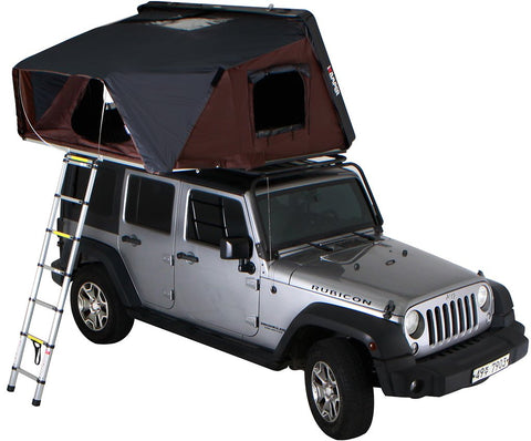 skycamp roof top tent by ikamper for Jeep Rubicon