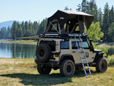 m55 jeep edition car top tent by free spirit recreation