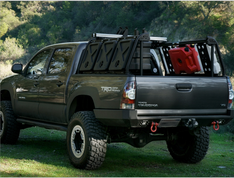 leitner designs active cargo system truck bed rack kit