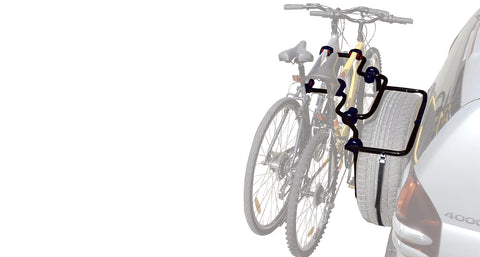 rhino rack spare wheel bicycle carrier