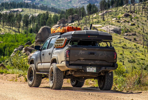ikamper skycamp mini best roof top tent for toyota tacoma