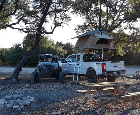 smittybilt overlander RTT with side awnings for ford fseries f150 f250 f350 raptor